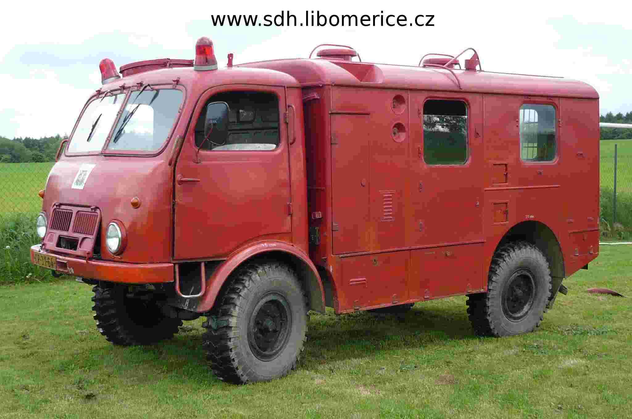 SDH Liboměřice Tatra 805