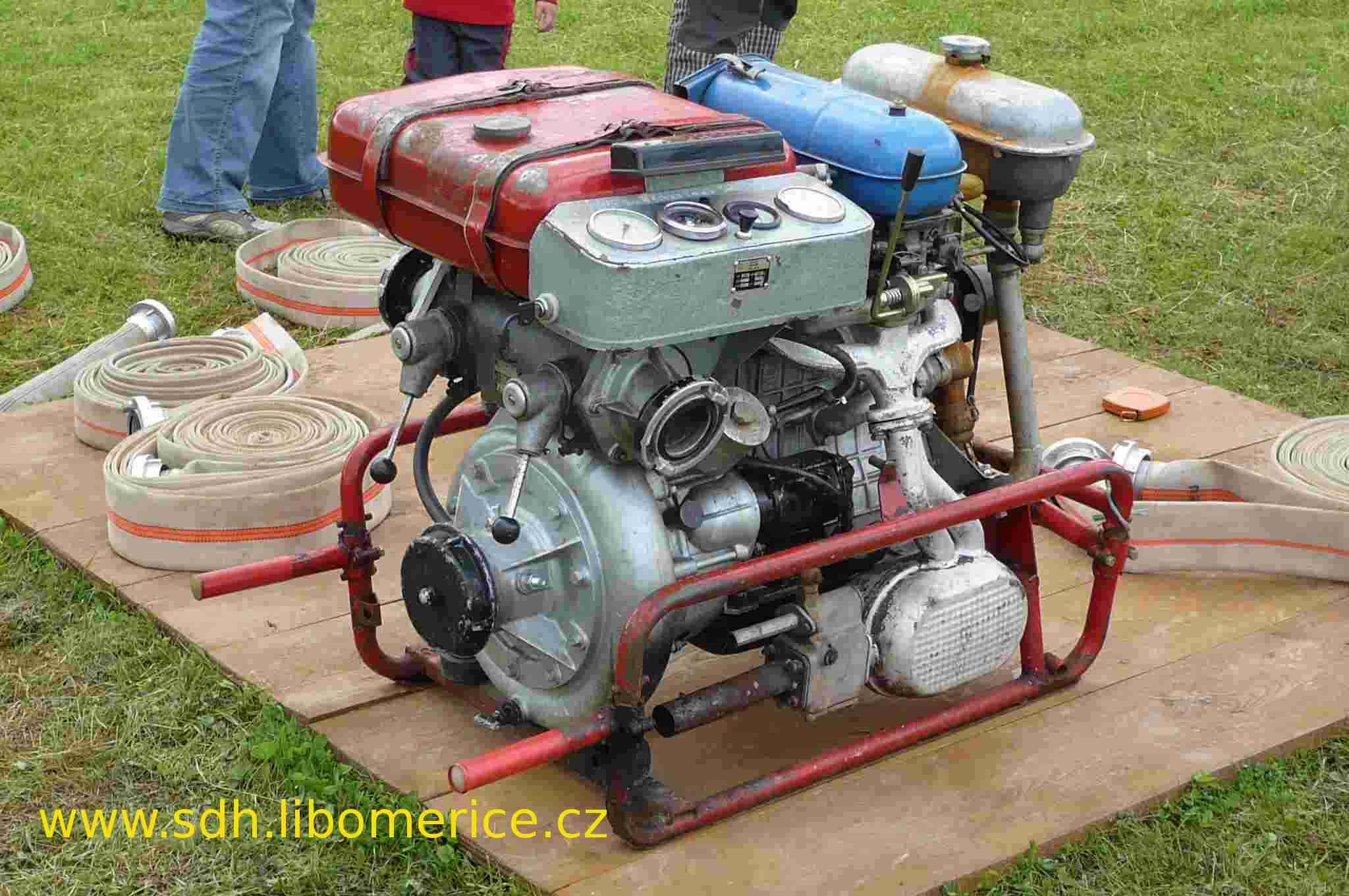 Požární stříkačka - PS 12 hasiči Liboměřice